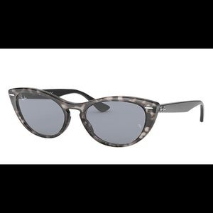 New Ray-Ban Nina grey Havana with case